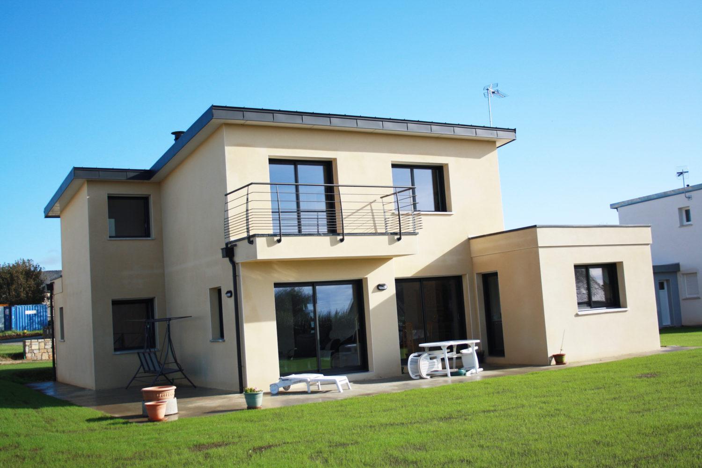 Construction De Maison Individuelle Saint Thonan Brest Finistere