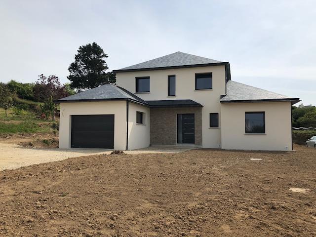 Livraison d'une maison contemporaine 125 m²